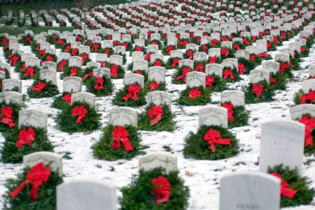 This 2005 photo of the stones at Arlington adorned with wreaths and covered in snow is credited with bringing national attention to the efforts of Morrill Worcester,owner ofWorcester Wreath Co.of Maine, who first placed surplus wreaths on graves in 1992. National interest in the annual tribute led to the formation of Wreaths Across America as a non-profit 501-(c)(3). Katy will observe Wreaths Across America at Katy Magnolia Cemetery, 6801 Franz Road, on Saturday, Dec. 14, starting at 10 a.m.