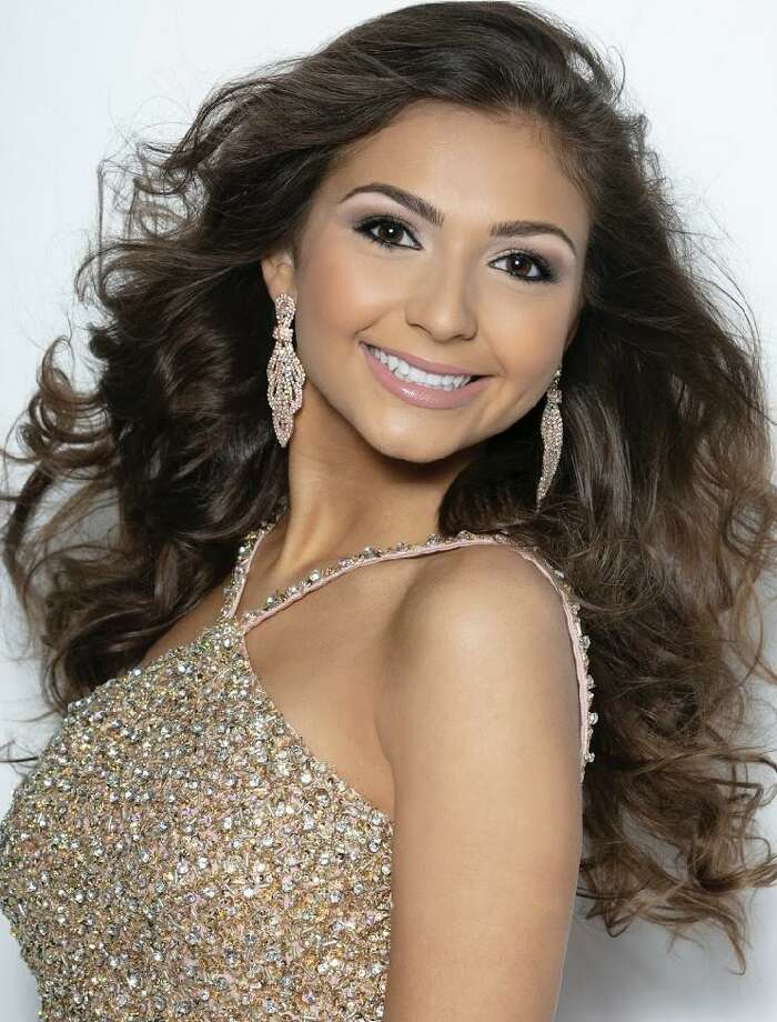 Alanna Rondinone,15, placed in the top five and won second runner up in the Miss Connecticut Teen USA 2020 pageant at the Stamford Marriott Hotel and Spa Nov. 30. It was her first time competing. Thirty-one young women vyed for the honor. Alanna was the youngest contestant. Photo: Contributed Photo