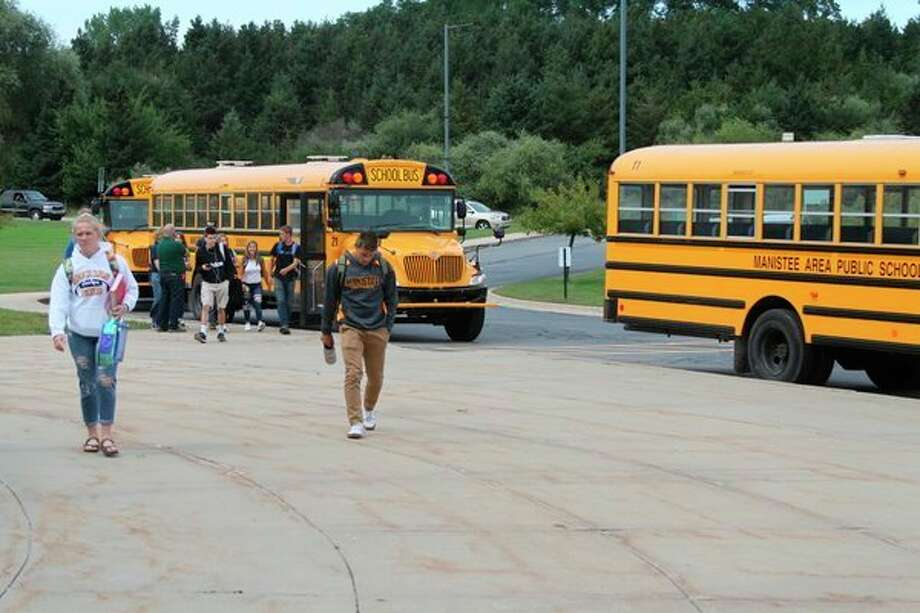 A bill introduced by 101st State Rep. Jack O'Malley is moving forward in the legislature and will put stiff penalties in place for anyone who tries to force their way on a school bus. (Ken Grabowski/News Advocate)