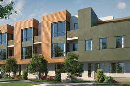 Waverly Cove in Foster City is a community of 20 three-bedroom townhomes that's currently under construction.