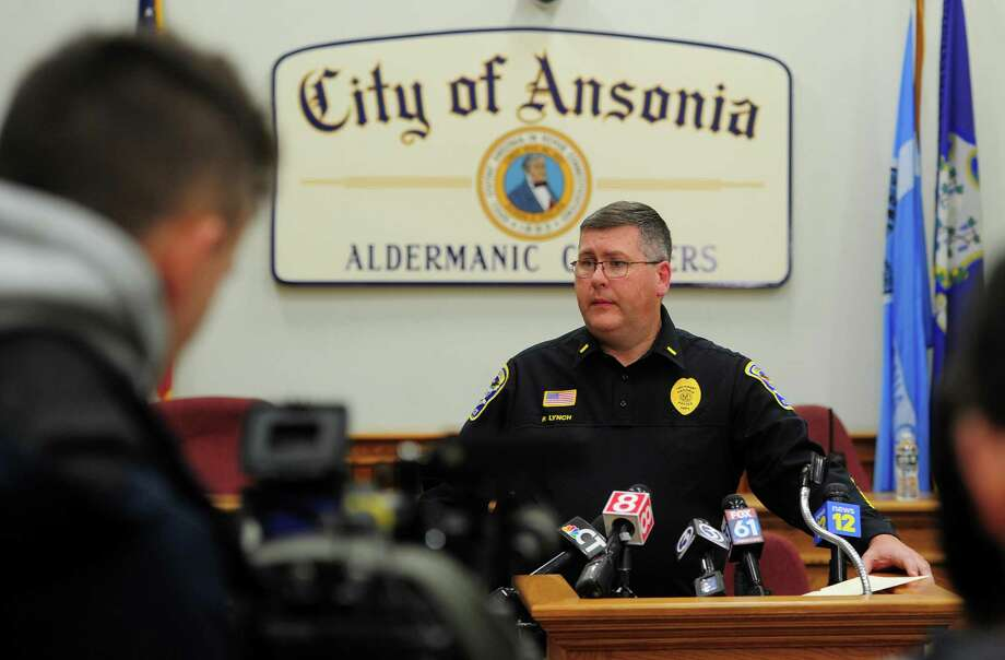 Ansonia Police Department's Lt. Patrick Lynch updates the media on a homicide of a woman of missing one-year-old child, Venessa Morales, during a press conference held at Ansonia City Hall in Ansonia, Conn., on Thursday Dec. 5, 2019. Photo: Christian Abraham / Hearst Connecticut Media / Connecticut Post