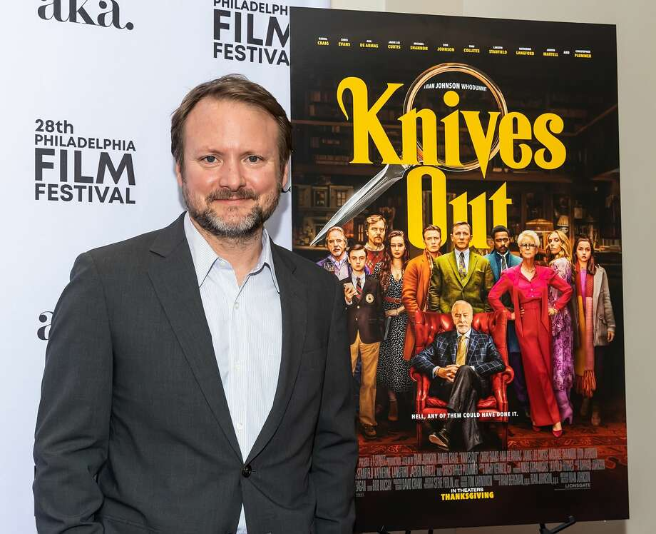 "Filmmaker/television director Rian Johnson attends the 28th Philadelphia Film Festival Screening of ""Knives Out"" at Philadelphia Film Center on October 25, 2019 in Philadelphia, Pennsylvania. Photo: Gilbert Carrasquillo/Getty Images"