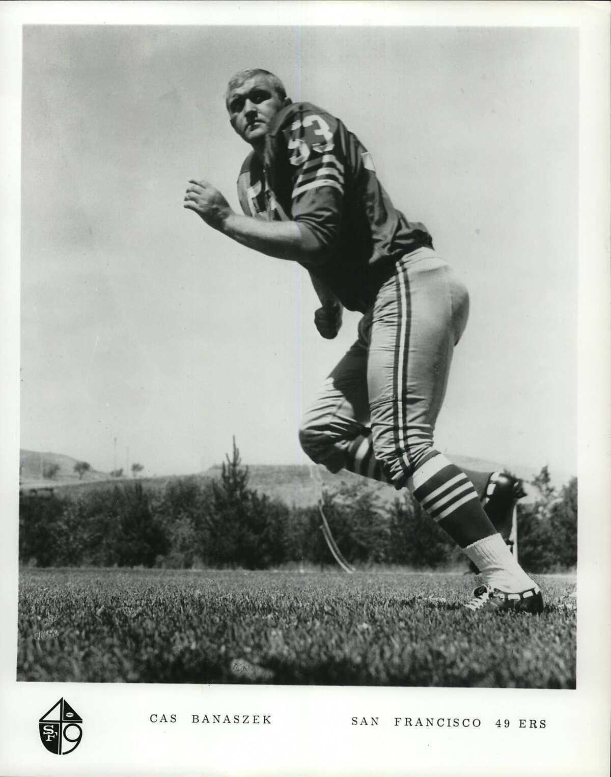 Cas Banaszek, San Francisco 49ers.