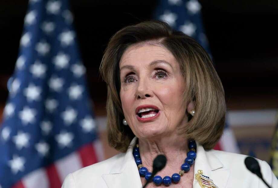 Pelosi Photo: J. Scott Applewhite /Associated Press / Copyright 2019 The Associated Press. All rights reserved.