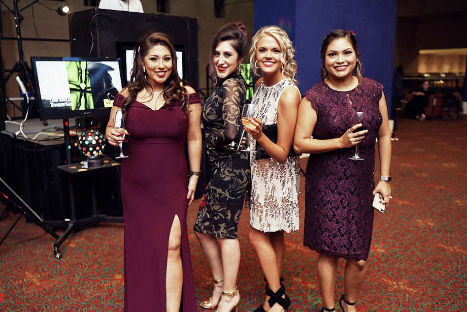 San Antonio's elite got glammed up for the 2019 Chamber Gala at the Henry B. Convention Center on Dec. 5, 2019. Photo: Chavis Barron