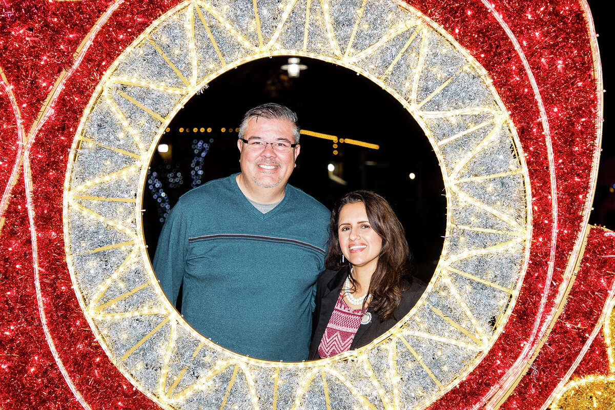 Palo Alto College kicked off their month-long holiday display Thursday night.