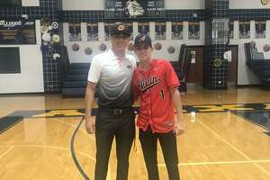 Paco Hernandez (left) and Sergio Galvan (right) signed their letters of intent to play college baseball.