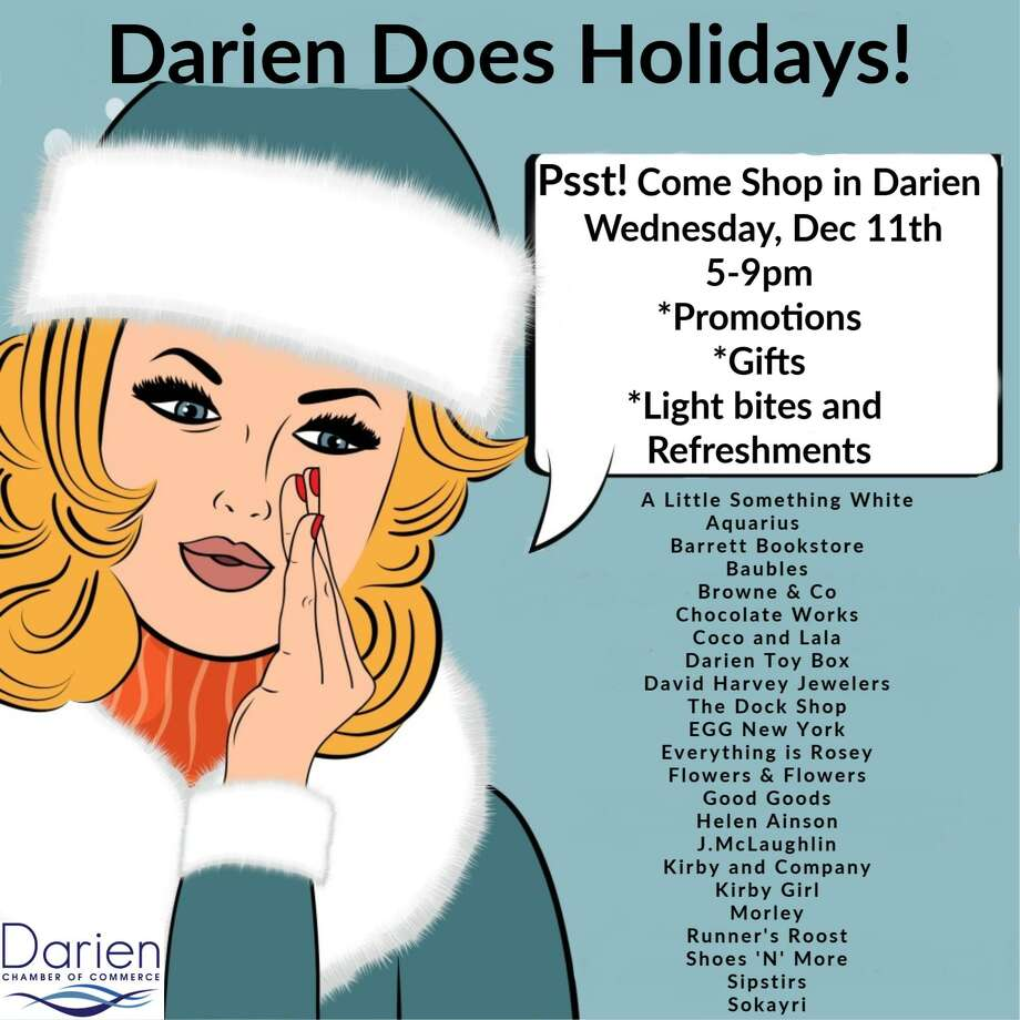 Darien holiday stroll Photo: Darien Chamber Of Commerce