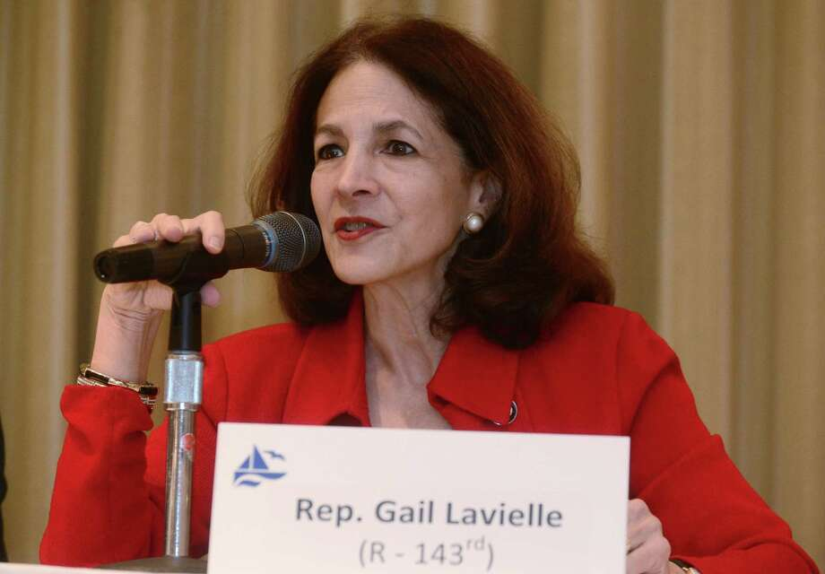 State Rep. Gail Lavielle (R-143) (shown in previous file photo) spoke forcefully before the Public Utilities Regulatory Authority (PURA) on Monday, Aug. 24, decrying Eversource's storm response. Photo: Erik Trautmann / Hearst Connecticut Media / Norwalk Hour