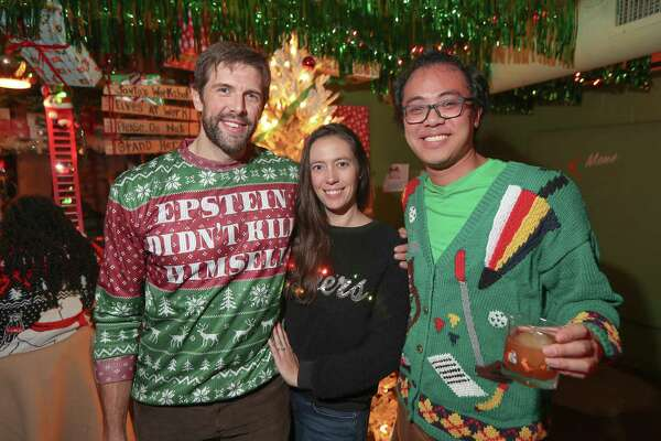 Ugly Christmas sweaters and going viral. A night out in