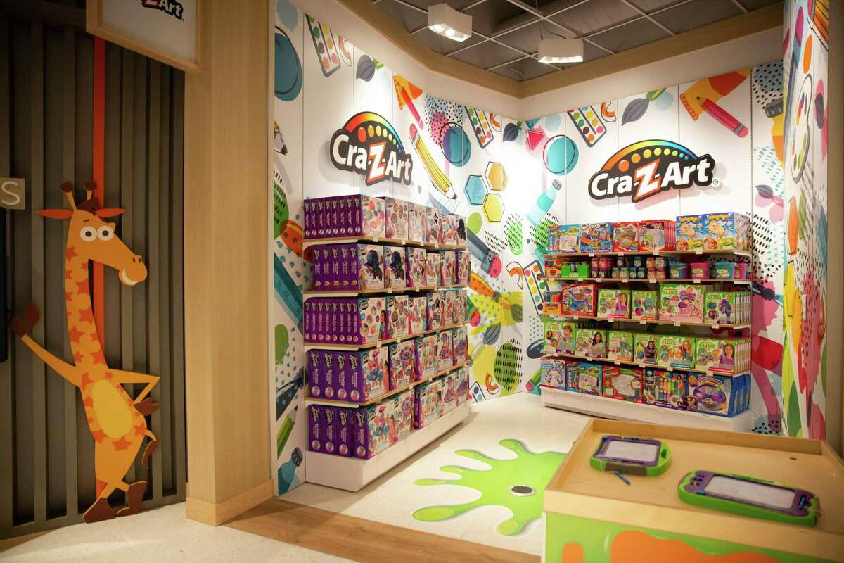 Toy brand Cra-Z-Art has its own anchor shop within Toys R Us at The Galleria.