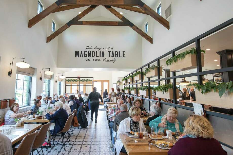 Magnolia Table is a breakfast and lunch restaurant opened in 2017 by Chip and Joanna Gaines in Waco, Texas. Photo: Photo For The Washington Post By Julia Robinson / Julia Robinson