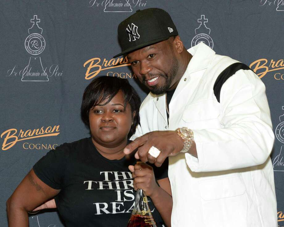 "Curtis ""50 Cent"" Jackson's interacts with fans during a ""Meet & Greet"" event at Spec's Wines, Spirits and Finer Foods in Sugar Land on Thursday, Dec. 5. Photo: Craig Moseley, Houston Chronicle / Staff Photographer / ©2019 Houston Chronicle"