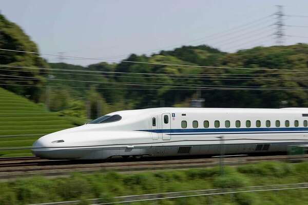 Photos of the N700 used under permission of JR Central which will move people between Dallas/Fort Worth and Houston in about 90 minutes on the proposed Texas Central High-Speed Railway (TCR). Courtesy JR Central