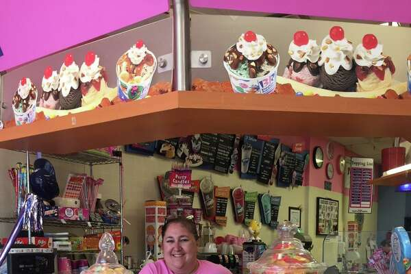 .The Baskin Robbins location that is currently located at 103 Main Street in the Town of New Canaan, Connecticut, is closing Dec. 28, 2019. Pictured is the current owner of the business, Anna Valente-Krolikowski.
