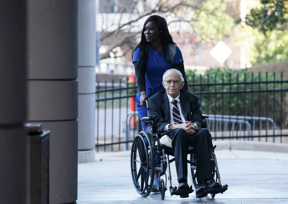 James Dannenbaum arrives to the Bob Casey United States Courthouse to appear in court on allegations of election fraud on Friday, Dec. 6, 2019, in Houston. Dannenbaum, a former University of Texas regent and ex-CEO of an influential engineering firm, pleaded guilty to campaign finance fraud. Photo: Yi-Chin Lee, Houston Chronicle / Staff Photographer / © 2019 Houston Chronicle