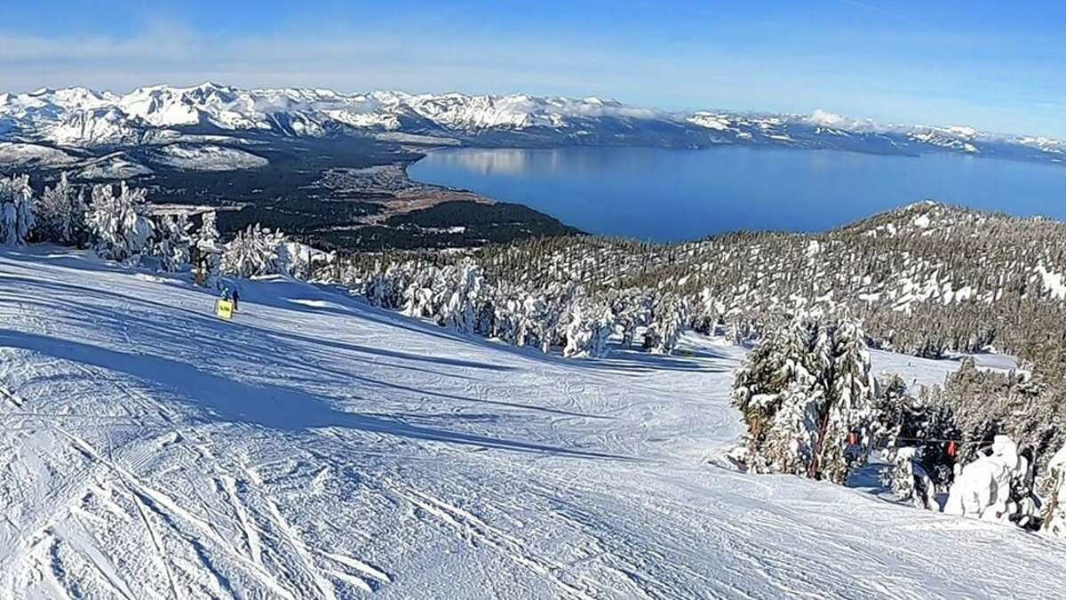 Heavenly Ski resort blanketed in fresh powder on Dec. 6, 2019Photography by Aaron Arthur Jones