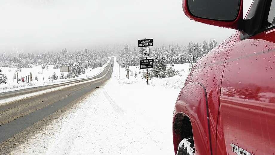 Tahoe blanketed in fresh snow, December 2019 Photo: Aaron Arthur Jones