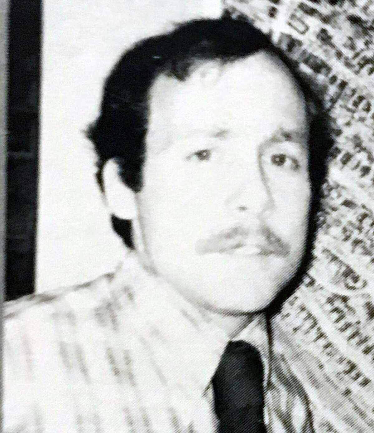 Fred Kelley in a yearbook photo from his first year of teaching. Photo courtesy of SHS yearbook.