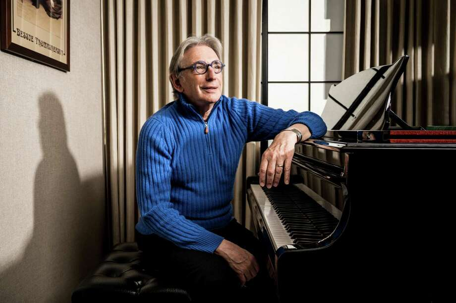 Michael Tilson Thomas in his office at the Davies Symphony Hall in San Francisco. Photo: Photo For The Washington Post By Winni Wintermeyer / Winni Wintermeyer