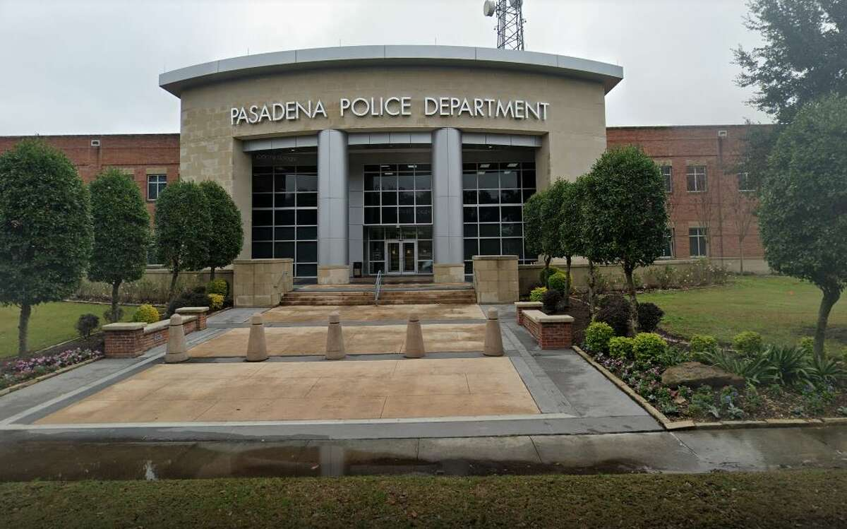 The Pasadena Police Department is pictured.
