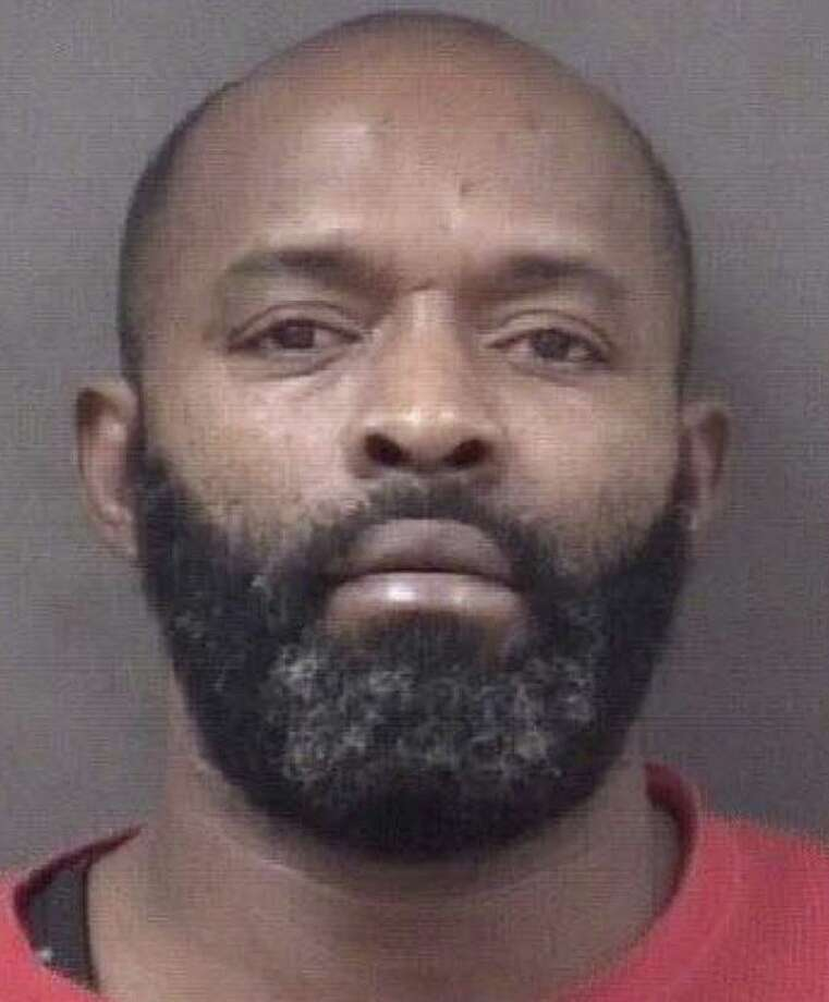 Kirk Brown, 45, of Pleasant Street in Bridgeport, Conn., was charged with second-degree assault, possession of a dangerous weapon, second-degree breach of peace and risk of injury. Photo: Contributed Photo / Milford Police Department