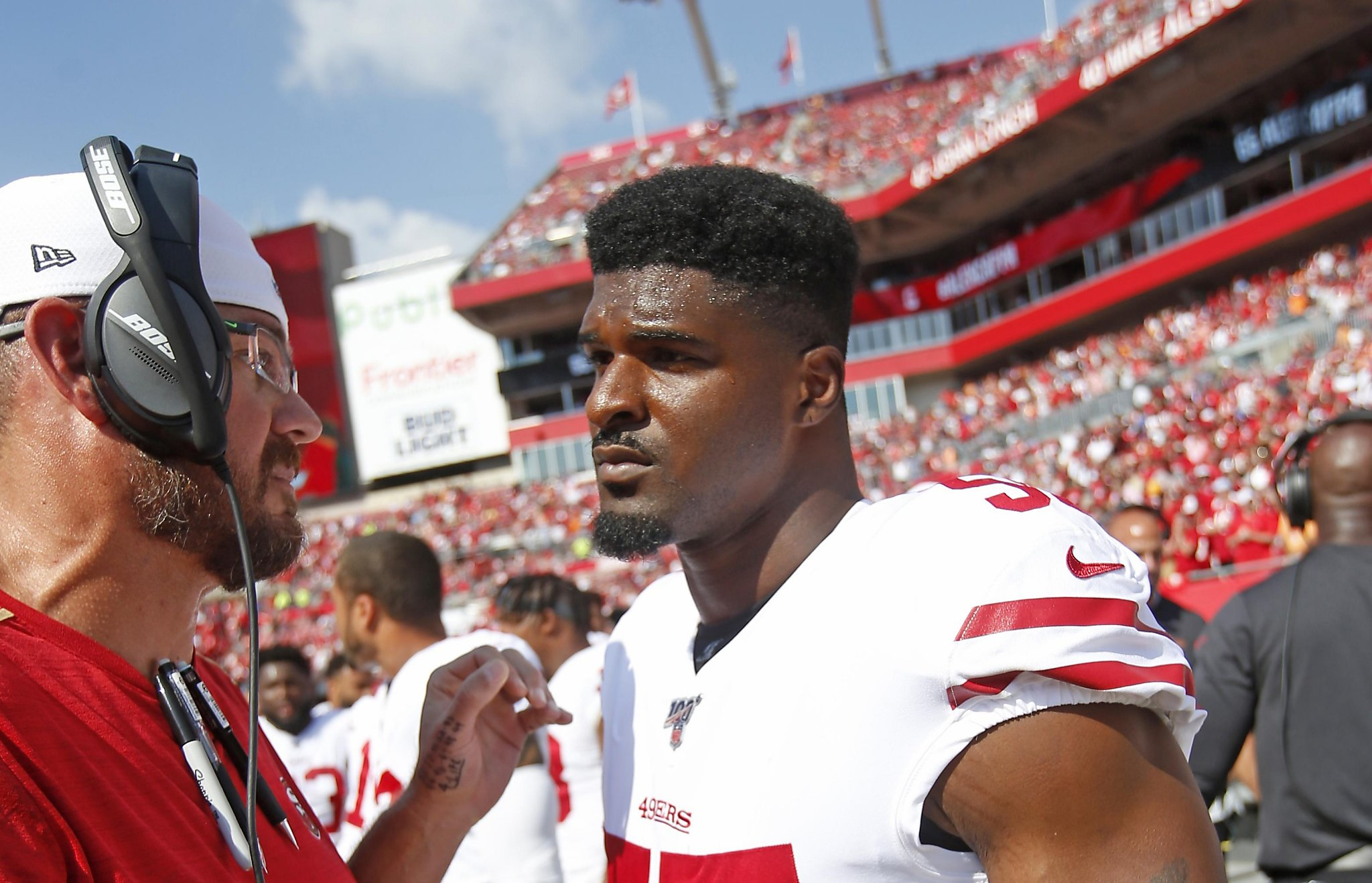 49ers' Dee Ford is a pass-rushing bolt of lightning