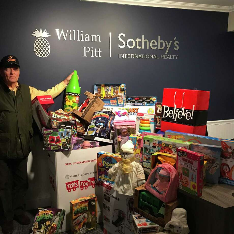 William Pitt Sotheby's International Realty plans to support the U.S. Marine Corps Reserve Toys for Tots program by hosting a collection at the firm's Essex brokerage through Dec. 15. Photo: Contributed Photo