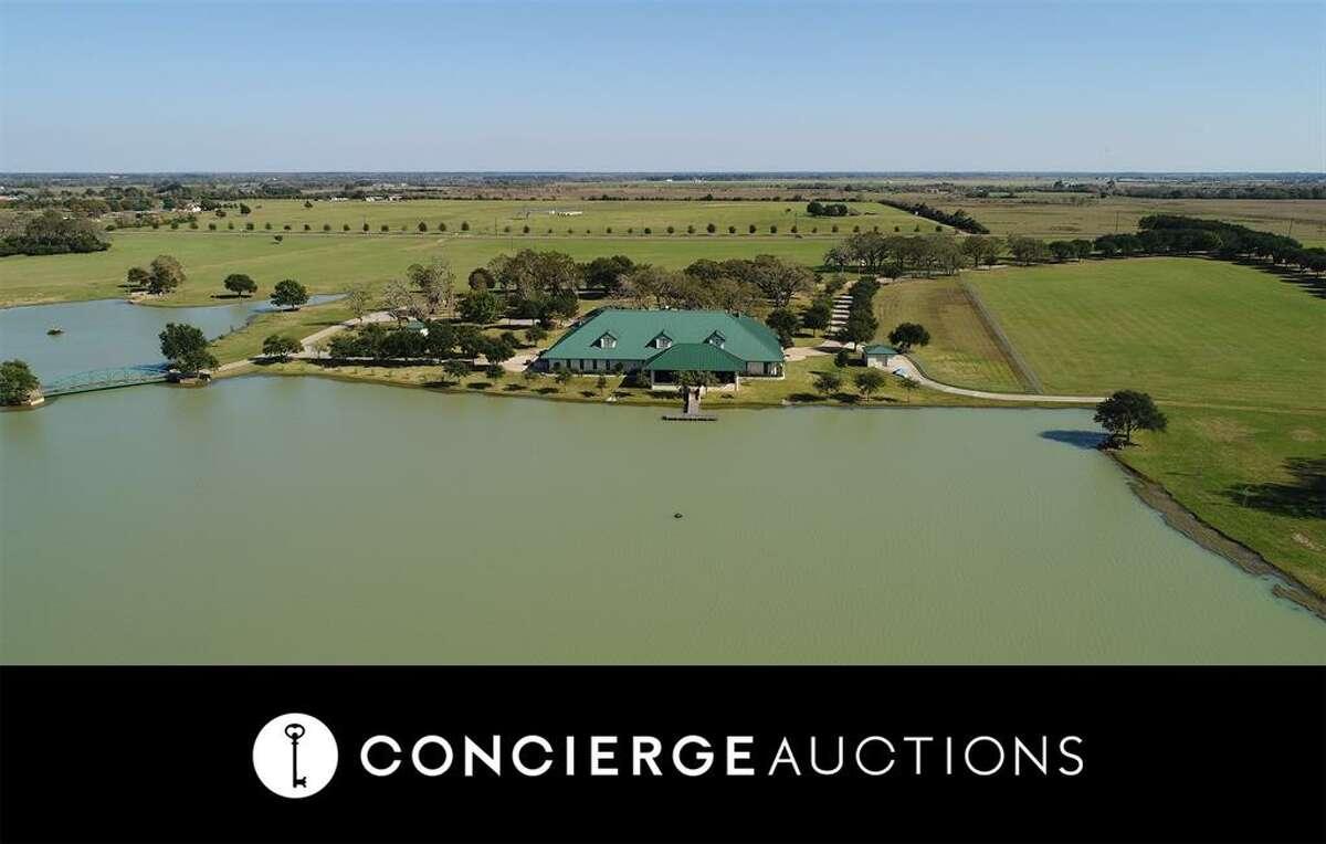 The ranch at 23407 FM 362 Road in Waller, Texas is slated to hit the auction block with no reserve.