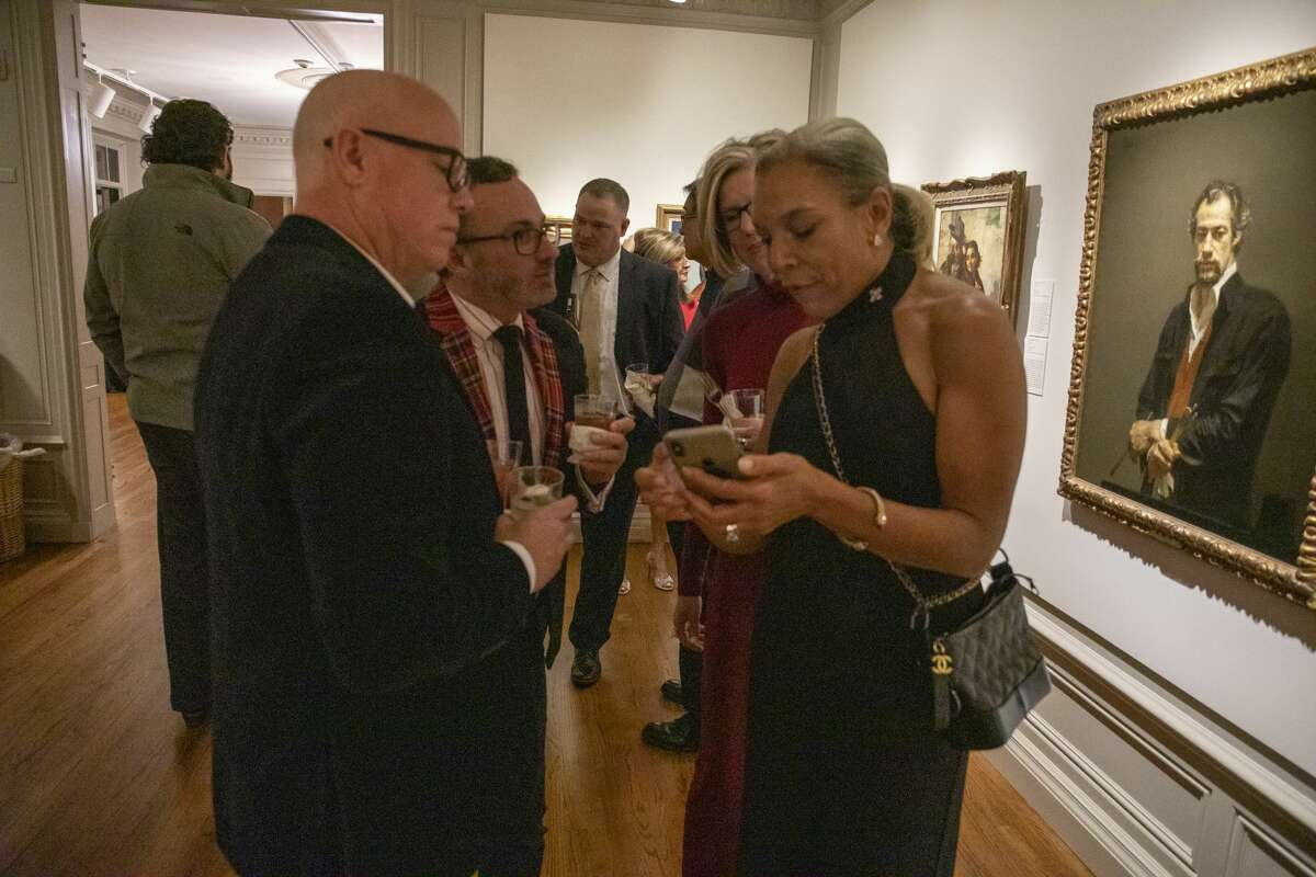 Scenes from Christmas at the Mansion preview party on Thursday, Dec. 5, 2019 at Museum of the Southwest. Jacy Lewis/Reporter-Telegram