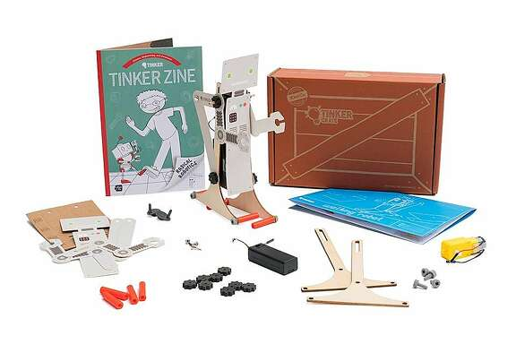 One of the most popular children's subscription boxes: activity kits from Mountain View-based Kiwi Co.