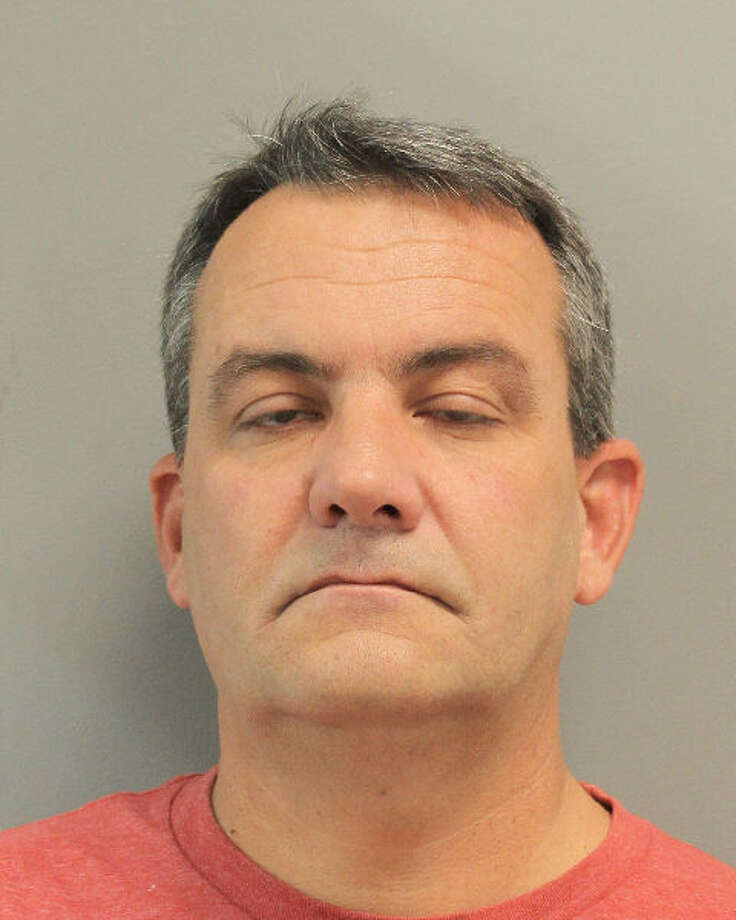 McKay Christensen, 49, faces a third-degree felony charge in the assault of his stepson. He resigned from the police department, where he has worked since 2003 and was most recently assigned to the traffic unit. Photo: Harris Co. Sheriff's Office