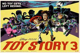"""Toy Story 3"" poster by Francesco Francavilla."