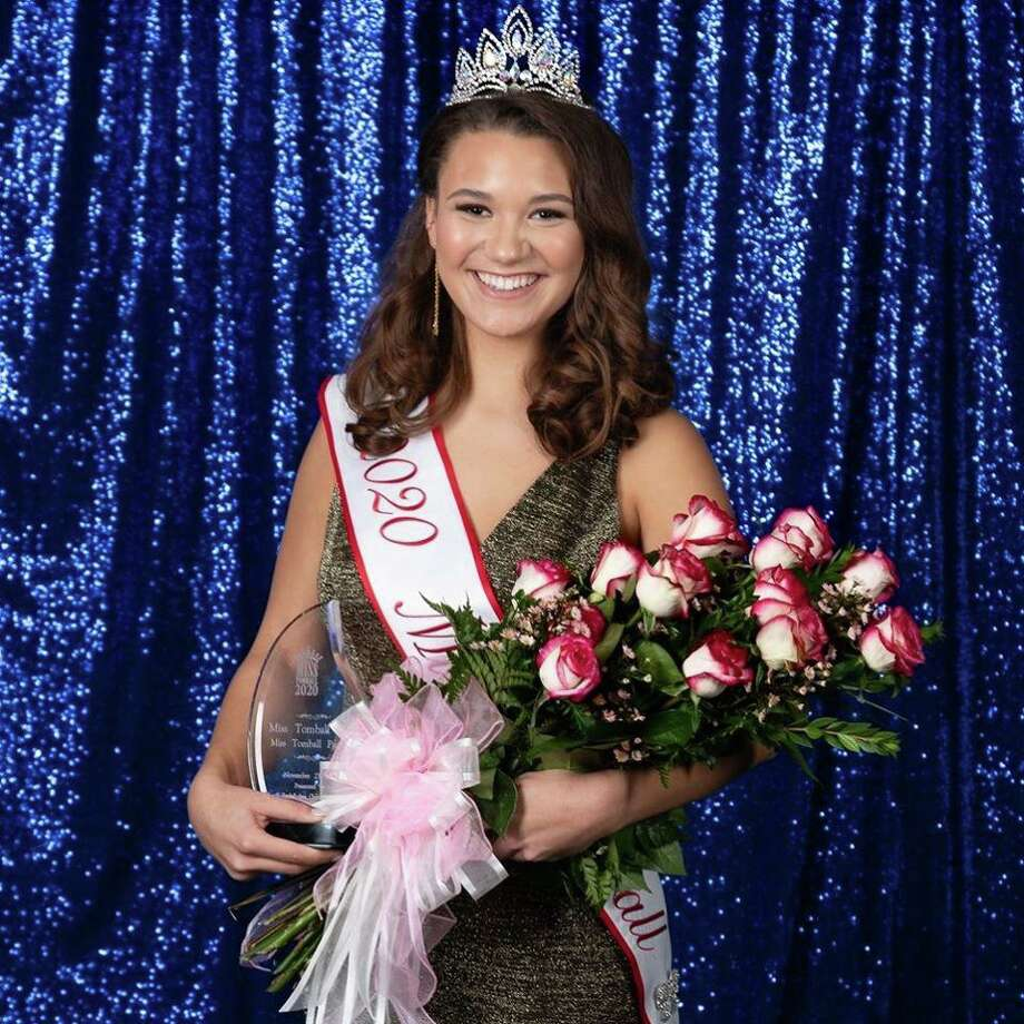 Palmer Jones, Miss Tomball 2020. Jones is a Tomball Memorial High School student who was named Miss Tomball this year, her second year competing in the pageant. Photo: Couresy Of The Greater Tomball Chamber Of Commerce