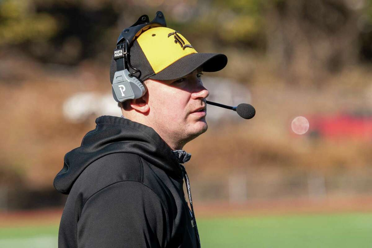 Former Jonathan Law football coach Erik Larka.