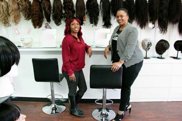 Hair Goals Club opened in downtown Humble Nov. 15, offering a place of security and comfort for hair wig needs for all genders and ages.