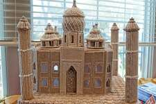 A gingerbread Taj Mahal was one of the more ornate creations in a previous Kent Gingerbread Festival.