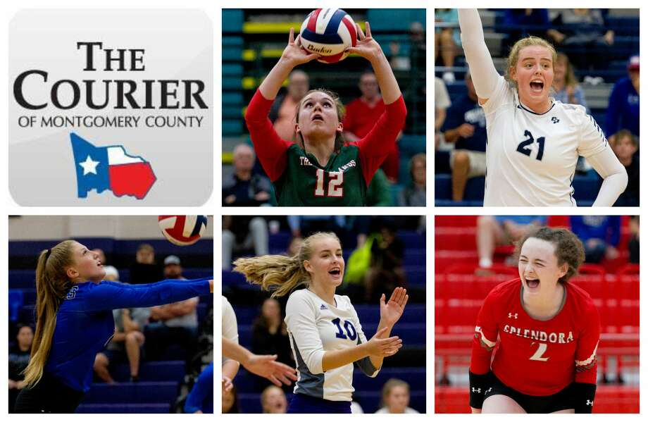 The Woodlands' Clara Brower, College Park's Annie Cooke, New Caney's Cassidee Love, Willis' Izzy Sundquist and Splendora's Falon Buford are The Courier's nominees for Setter of the Year. Photo: Staff Photos