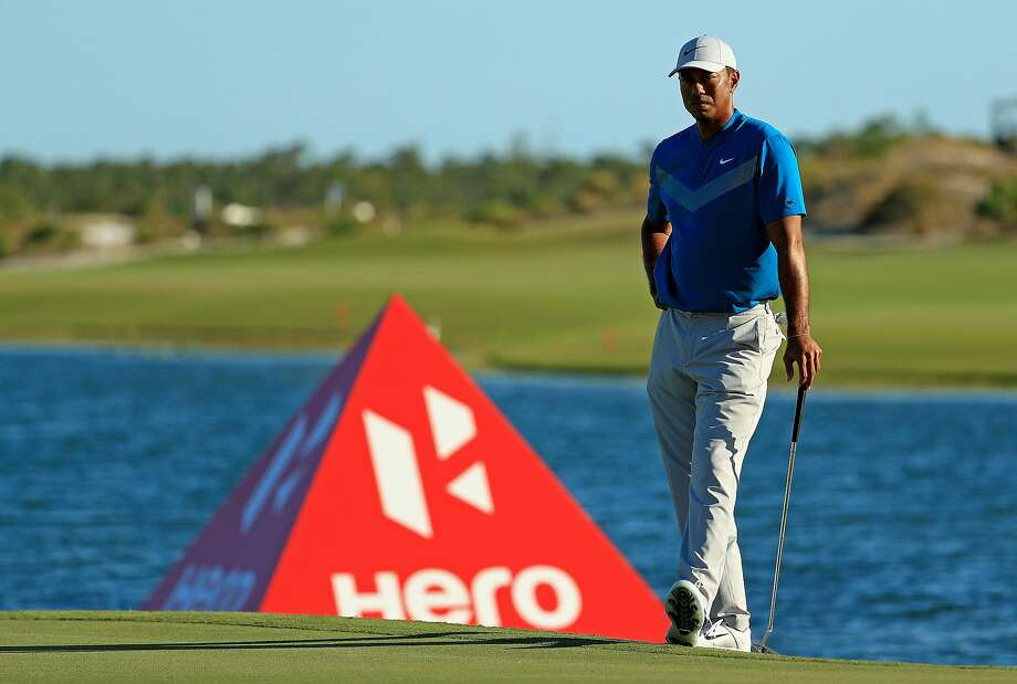 NASSAU, BAHAMAS - DECEMBER 06: Tiger Woods of the United States waits to putt on the 18th hole during the third round of the Hero World Challenge on December 06, 2019 in Nassau, Bahamas. (Photo by Mike Ehrmann/Getty Images) Photo: Mike Ehrmann / Getty Images