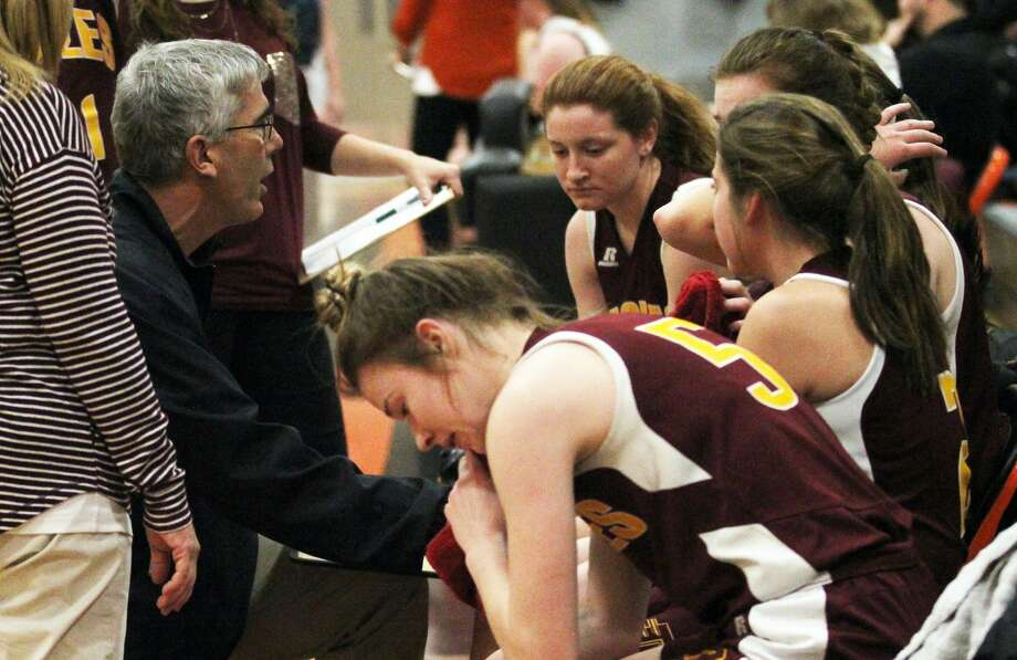 The Ubly Bearcats girls varsity basketball team opened the 2019-2020 season with a 37-31 win over Deckerville on Friday, Dec. 6, 2019. Photo: Mark Birdsall/Huron Daily Tribune