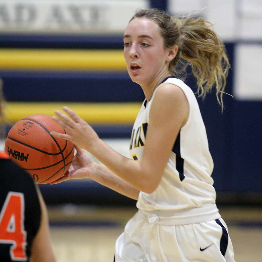 Harbor Beach picked up its first road win of the season against Bad Axe by a score of 54-30 on Friday, Dec. 6. Photo: Eric Rutter/Huron Daily Tribune