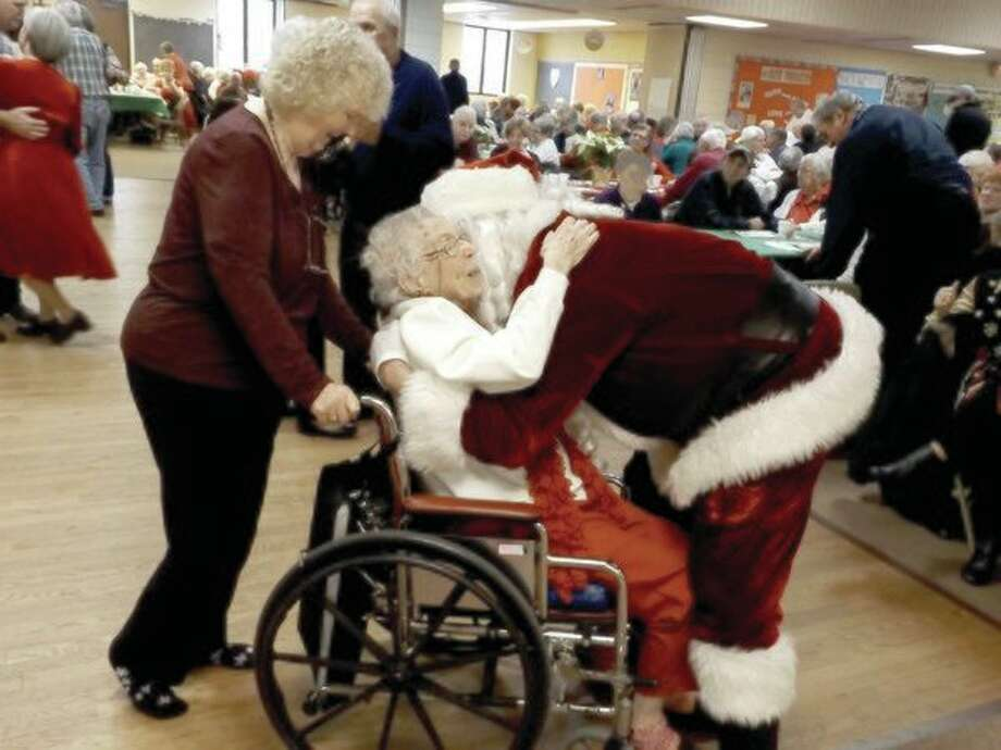 Bringing you visions of Jingle Bell Balls past; Santa pays a visit and passed on the love of Christmas. (Courtesy photo)
