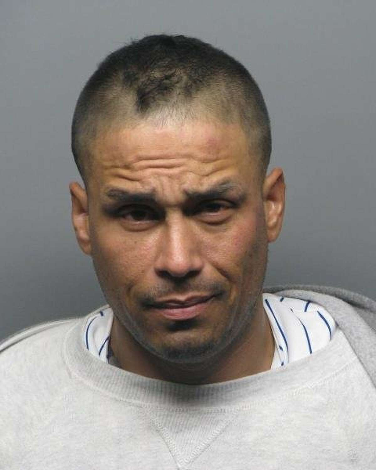 Police officers with BART, Clayton and Concord Police Departments arrested RobertoMarenco,38, while he was at a residence in Concord at 8:45p.m. Friday, according to BART officials. Marenco is shown in a undated mugshot unrelated to his arrest in this case.
