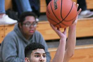 Senior guard Alex Flores is averaging 21.3 points per game this year for the Mustangs. Flores is also shooting 45% from the 3-point line.