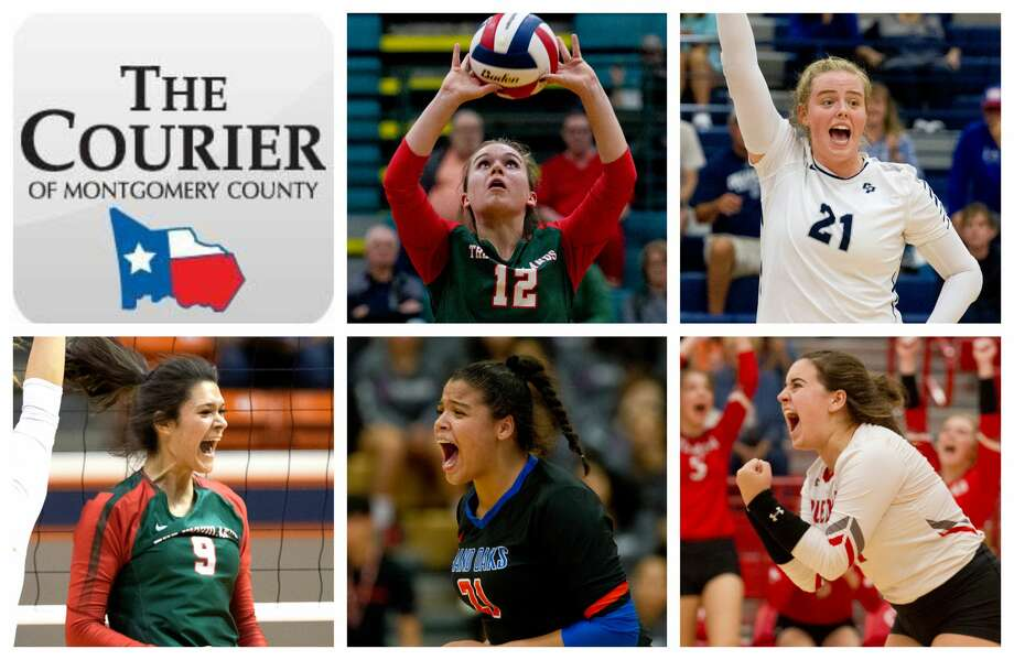 The Woodlands' Clara Brower, College Park's Annie Cooke, The Woodlands' Dylan Maberry, Grand Oaks' Fallon Thompson and Splendora's Kayla Martin are The Courier's nominees for Player of the Year. Photo: Staff Photos