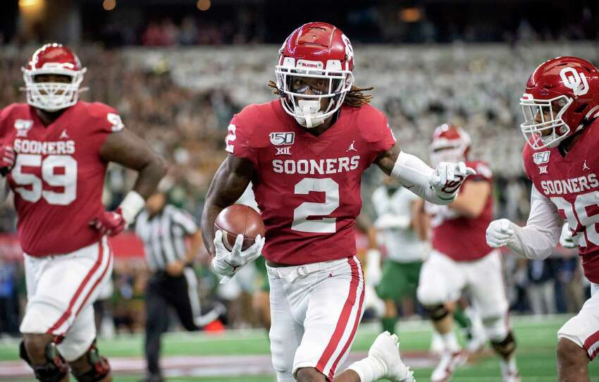 CeeDee Lamb, receiverHigh school: FosterCollege: OklahomaDrafted: 17th overall by the Dallas Cowboys in 2020 .
