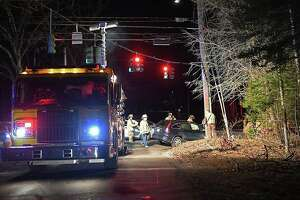 At 6:15 p.m. crews were dispatched to the intersection of Little City Road and Killingworth Road for a two-vehicle collision. Firefighters used hydraulic tools to help extricate one of the patients, who was later transported to Middlesex Hospital. As crews investigated, one lane of traffic was temporarily blocked.