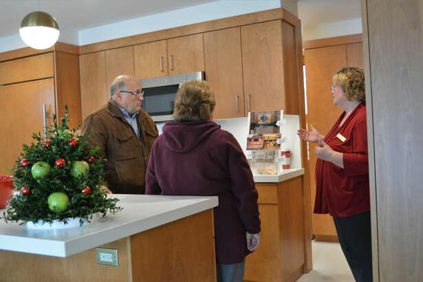 These homes were dressed their best and open to the public during the annual Zonta Homewalk on Saturday, Dec. 7 in and around Midland. This home, located at 806 West St. Andrews Road, was designed and built by Alden B. Dow in 1940.