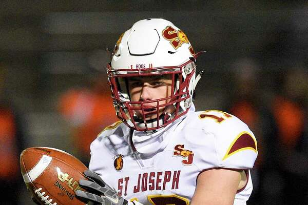St. Joseph quarterback Jack Wallace was named the 2019 Gatorade Connecticut Football Player of the Year in his first year under center for the Cadets.