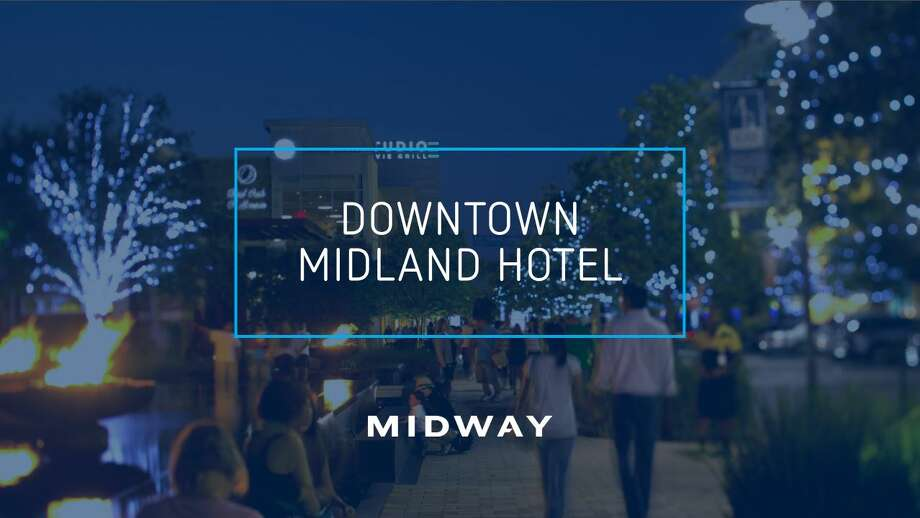 "The Midland City Council and Midland Development Corp. will vote this week on a $28.6 million investment package to bring a ""four-star"" hotel to downtown. If approved, the council and the MDC will enter into a master development agreement with Midway Companies, a Texas-based developer with a track record of developing and building four-star hotels that incorporate the spirit of the local community, according to information from the MDC. Photo: Courtesy PowerPoint"